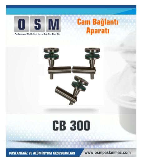 Cam bağlantı aparatı-CB-300