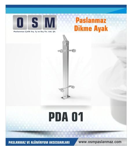 PASLANMAZ DİKME AYAK PDA 01