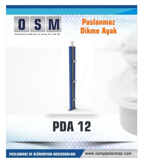 PASLANMAZ DİKME AYAK PDA 012