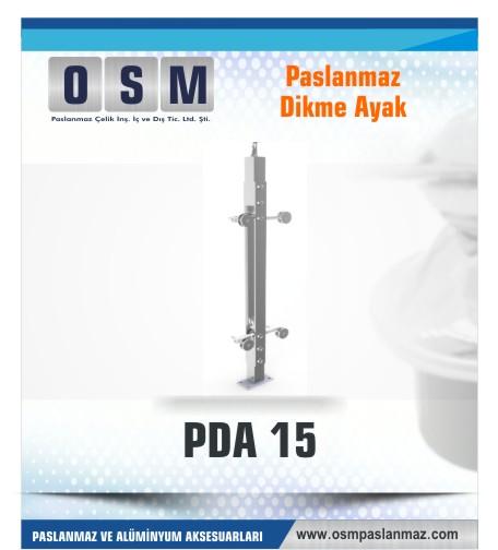 PASLANMAZ DİKME AYAK PDA 015