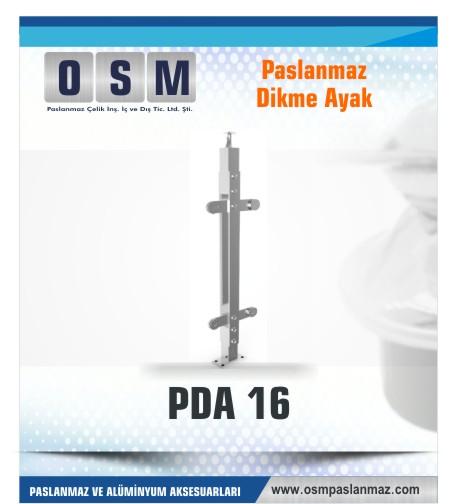 PASLANMAZ DİKME AYAK PDA 016