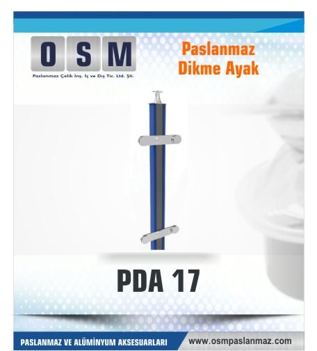 PASLANMAZ DİKME AYAK PDA 017