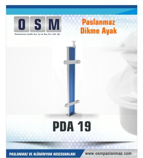 PASLANMAZ DİKME AYAK PDA 019