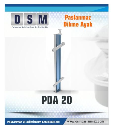 PASLANMAZ DİKME AYAK PDA 020