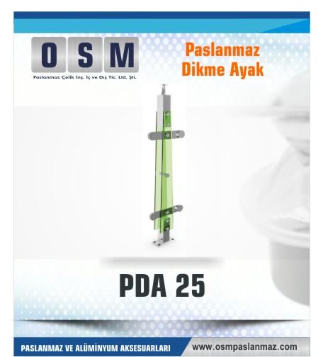 PASLANMAZ DİKME AYAK PDA 025