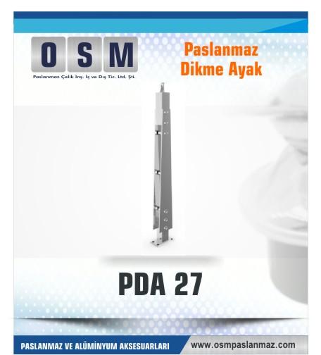 PASLANMAZ DİKME AYAK PDA 027