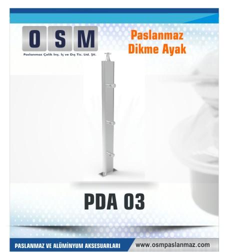 PASLANMAZ DİKME AYAK PDA 03