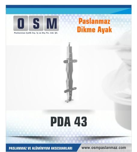 PASLANMAZ DİKME AYAK PDA 043