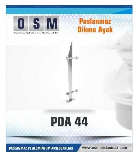 PASLANMAZ DİKME AYAK PDA 044