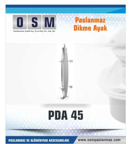 PASLANMAZ DİKME AYAK PDA 045