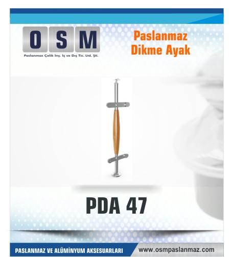 PASLANMAZ DİKME AYAK PDA 047