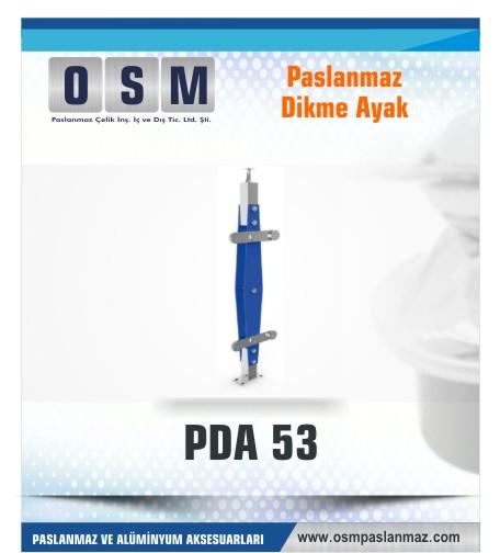 PASLANMAZ DİKME AYAK PDA 053