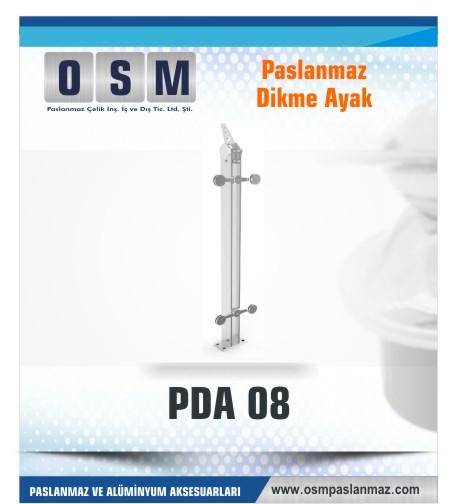 PASLANMAZ DİKME AYAK PDA 08