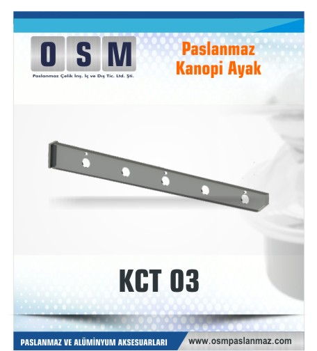 PASLANMAZ KONOPİ AYAK KCT 03