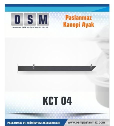 PASLANMAZ KONOPİ AYAK KCT 04
