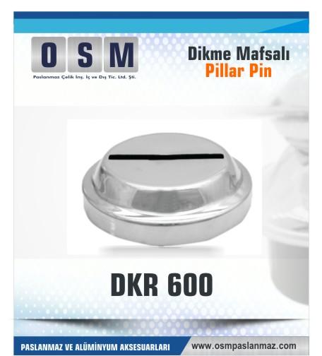 PASLANMAZ ROZET DKR 600