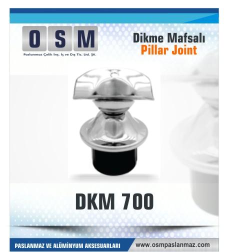 Paslanmaz Kare Mafsal DKM-700