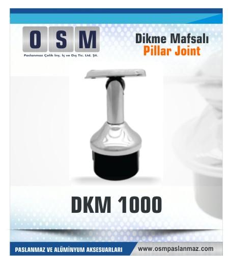 Paslanmaz Mafsal DKM 1000