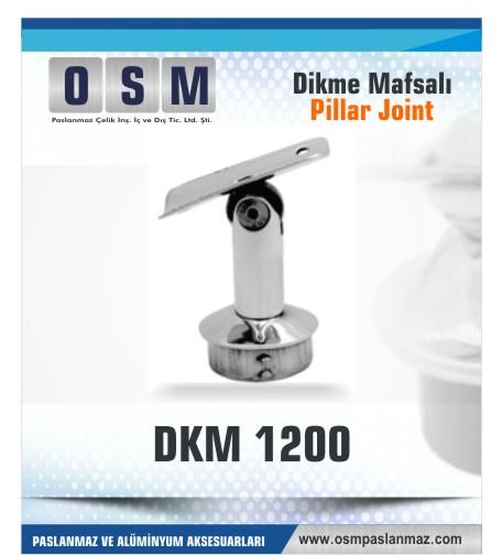Paslanmaz Mafsal DKM 1200