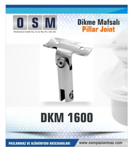 Paslanmaz Mafsal DKM 1600