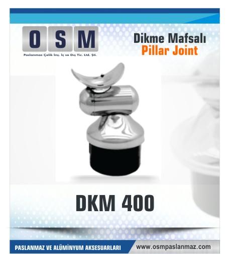 Paslanmaz Mafsal DKM-400