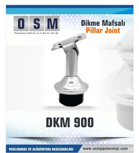 Paslanmaz Mafsal DKM 900