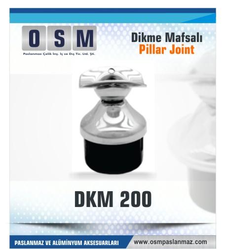 Paslanmaz Mafsal DKM- 200