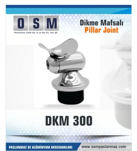 Paslanmaz Mafsal DKM- 300