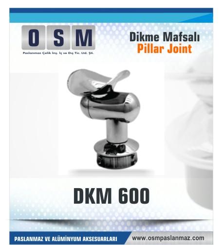 Paslanmaz Mafsal DKM- 600
