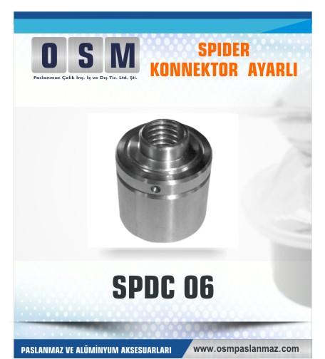 SPIDER KONNEKTÖR AYARLI SPDC 06