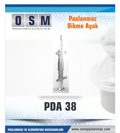 PASLANMAZ DİKME AYAK PDA 038
