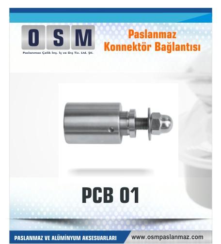 Paslanmaz Konnektör bağlantı PCP-01